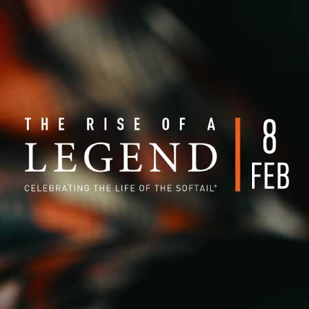 Rise of a Legend Softail Test Ride Event