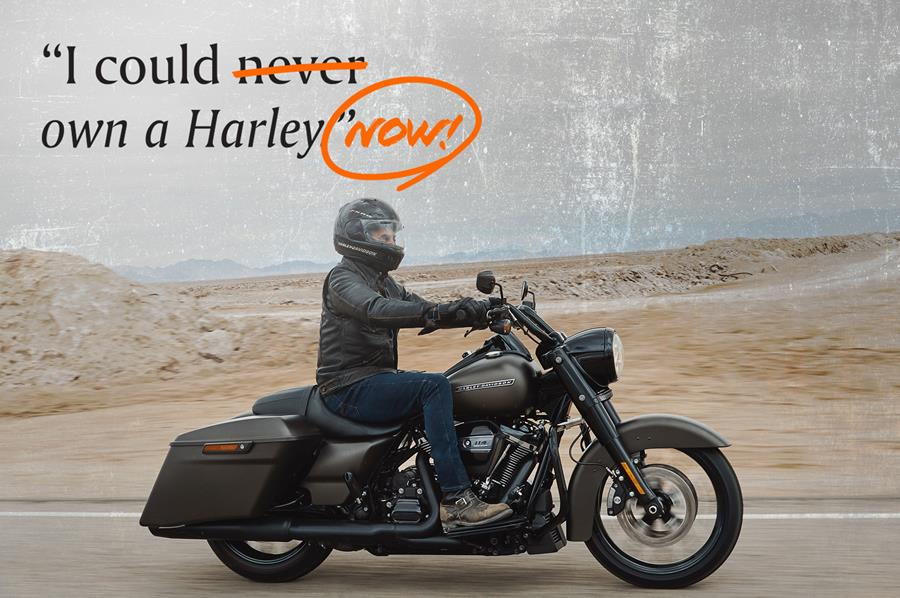 I could own Harley now!