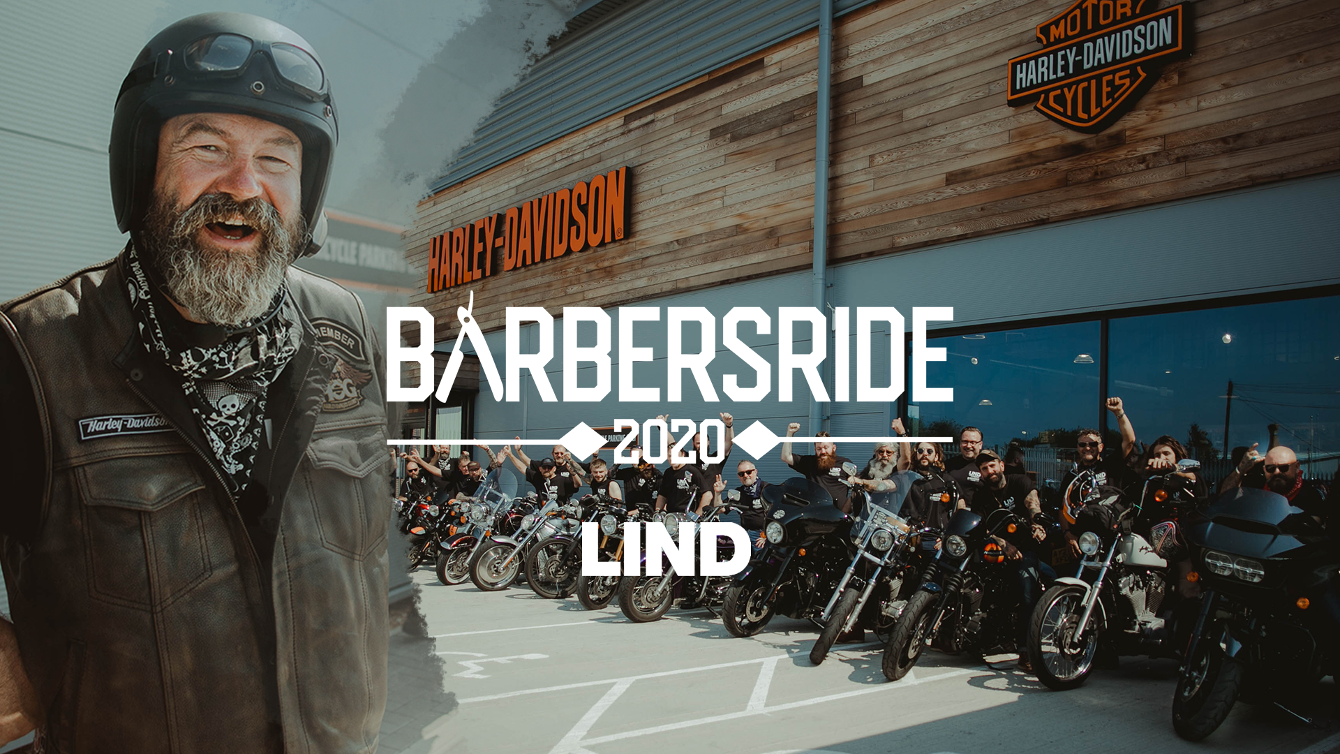 Barbersride 2020 | Proudly supported by LIND